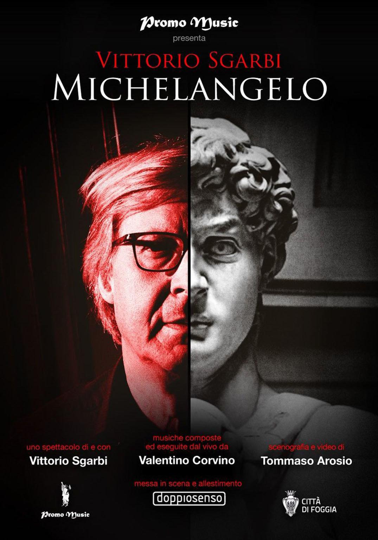 «Michelangelo» di e con Vittorio Sgarbi al Teatro della Fortuna di Fano
