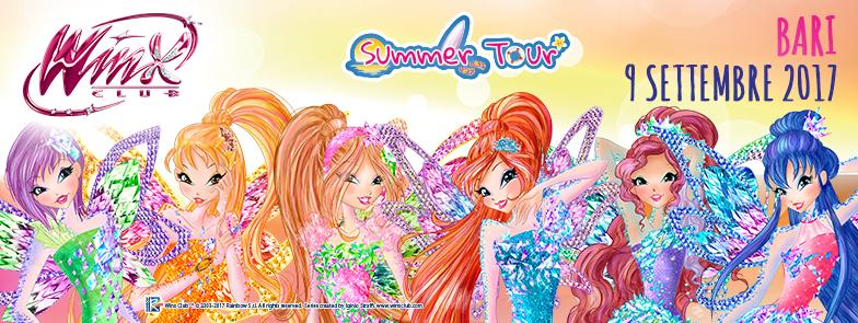 Winx Summer tour Bari Torre Quetta: un finale di stagione di magia