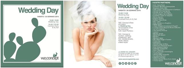 "W.E. CONCEPT ""WEDDING DAY"""