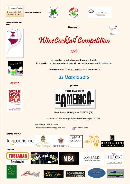 A Caserta la finale della WineCocktail Competition 2016
