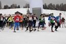 Val Gardena Ciasp, tutti di corsa sulla neve