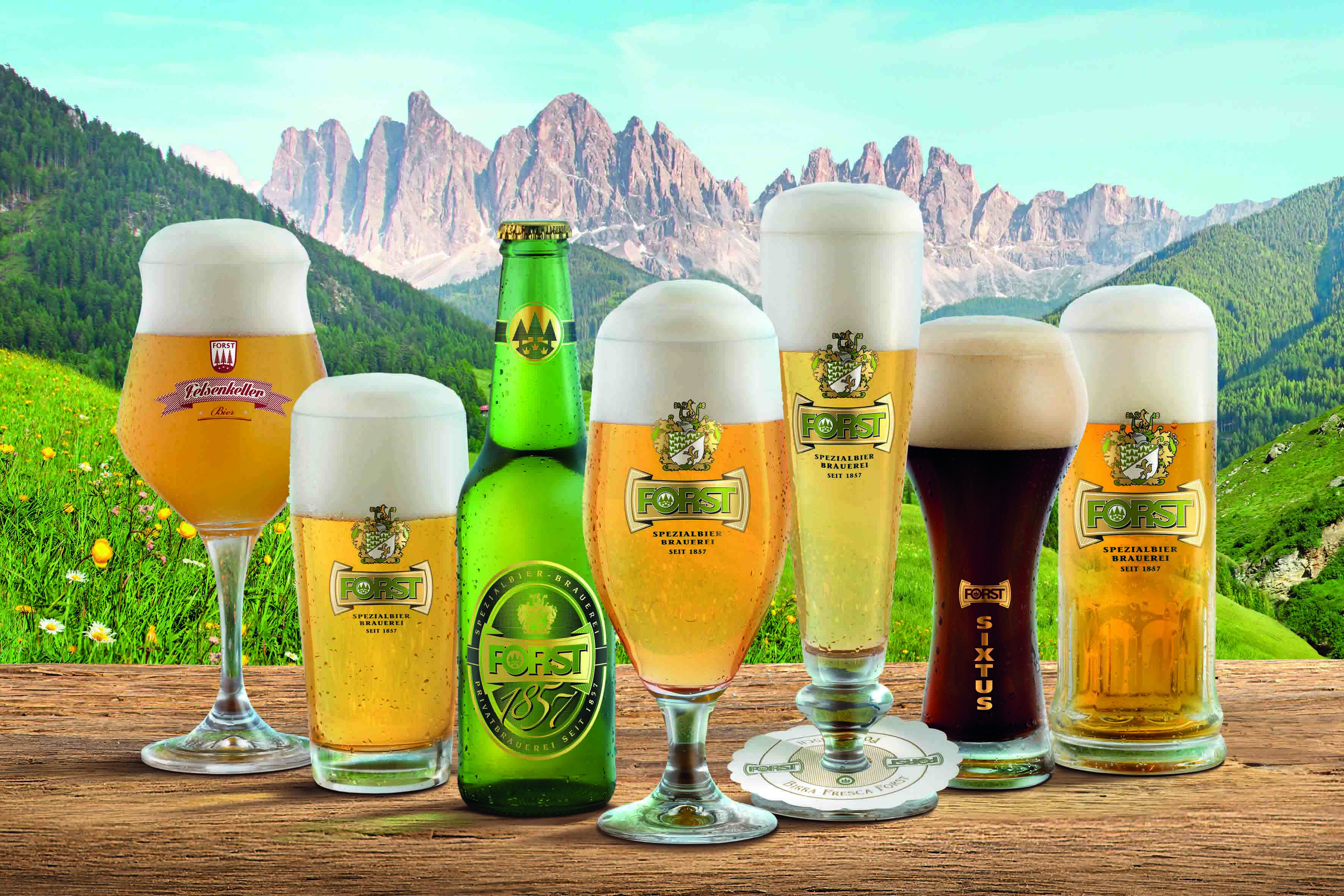 Birra FORST da sempre vicino ai ciclisti