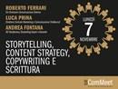 Lo Storytelling protagonista dell'evento Icat ComMeet di novembre