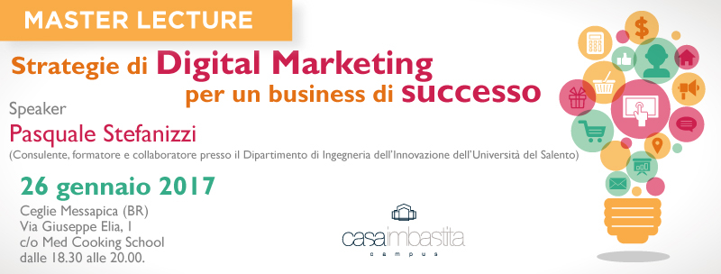 Digital Marketing, Pasquale Stefanizzi illustra le strategie di successo