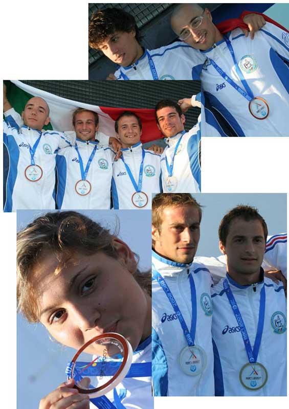 Bari - CMAS 2007 - Nuoto pinnato l'Italia conquista altri due ori