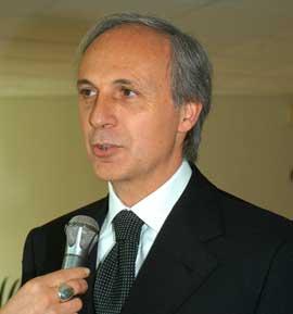 Massimo Bianconi per il mondiale di Volley al Banca Marche Palace