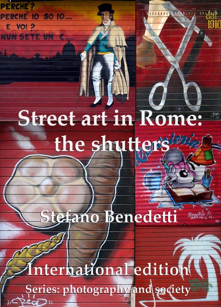 Street art in Rome: the shutters