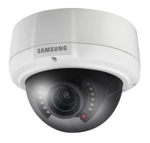Samsung SCV-2081R: nuova telecamera dome con LED IR, solida, compatta e resistente agli atti vandalici