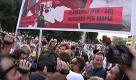 Roma, militanti Lotta per la Casa contestano manifestazione antimafia - La Repubblica