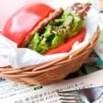 Pomodoro al posto del pane: il tomami burger è servito