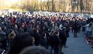 Saeco, lapplauso dei lavoratori ai sindacalisti - La Repubblica